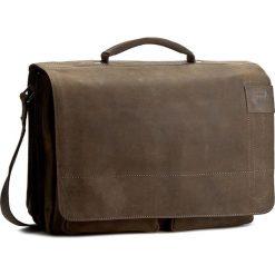 Torba na laptopa STRELLSON - Richmond 4010001260 Dark Brown 702. Brązowe torby na laptopa Strellson, z nubiku. Za 1089,00 zł.