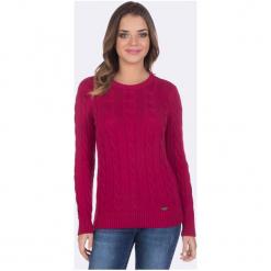 Giorgio Di Mare Sweter Damski Xl Różowy. Czerwone swetry klasyczne damskie marki Giorgio di Mare, xl. Za 169,00 zł.