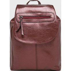 Answear - Plecak. Brązowe plecaki damskie ANSWEAR, z materiału. W wyprzedaży za 59,90 zł.