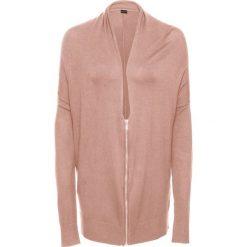 Sweter rozpinany z zamkiem oversize bonprix stary jasnoróżowy. Szare kardigany damskie marki Mohito, l. Za 49,99 zł.