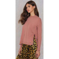 Twist & Tango Sweter Trinny - Pink. Różowe swetry klasyczne damskie Twist & Tango, z dzianiny. W wyprzedaży za 183,98 zł.