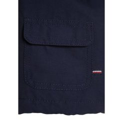 OVS KABAN HOOD BABY Kurtka przejściowa estate blue. Czarne kurtki chłopięce przejściowe marki OVS, z materiału. Za 129,00 zł.
