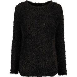 Swetry klasyczne damskie: Sweter dzianinowy bonprix czarny