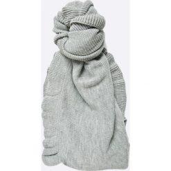 Vero Moda - Szal. Szare szaliki damskie marki Vero Moda, z dzianiny. W wyprzedaży za 39,90 zł.