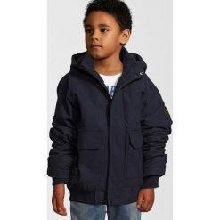 Quiksilver BROOKS ISLAND DWR Kurtka zimowa navy blazer. Szare kurtki chłopięce zimowe marki Quiksilver, krótkie. W wyprzedaży za 303,20 zł.