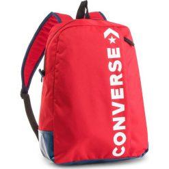 Plecak CONVERSE - 10008286-A02 603. Czerwone plecaki męskie Converse, z materiału, sportowe. W wyprzedaży za 119,00 zł.