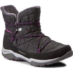 Śniegowce COLUMBIA - Loveland Shorty Omni-Heat BL1744 Black/Bright Plum 010. Czarne buty zimowe damskie Columbia, z materiału. W wyprzedaży za 249,00 zł.