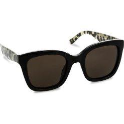 Okulary przeciwsłoneczne TOMMY HILFIGER - 1512/S Bk Animprint 7T3. Czarne okulary przeciwsłoneczne damskie lenonki TOMMY HILFIGER. W wyprzedaży za 449,00 zł.