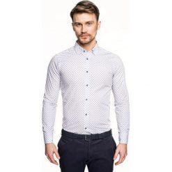 Koszula versone 2727 długi rękaw slim fit biały. Szare koszule męskie slim marki Recman, na lato, l, w kratkę, button down, z krótkim rękawem. Za 149,00 zł.