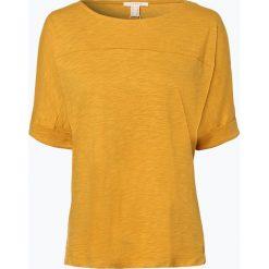Esprit Casual - Koszulka damska, żółty. Żółte t-shirty damskie Esprit Casual, s. Za 69,95 zł.