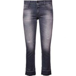 CLOSED STARLET Jeansy Straight Leg used wash special hem. Szare jeansy damskie CLOSED. Za 959,00 zł.