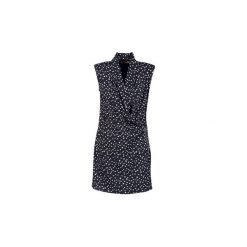 Sukienki krótkie DDP  DEMAROSA. Niebieskie sukienki mini marki DDP, l, z krótkim rękawem. Za 307,30 zł.