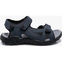 American Club - Sandały. Czarne sandały męskie skórzane marki American CLUB. W wyprzedaży za 69,90 zł.
