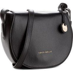 Torebka COCCINELLE - AF8 Clementine Soft E1 AF8 15 02 01 Noir 001. Czarne listonoszki damskie marki Coccinelle, ze skóry. W wyprzedaży za 659,00 zł.