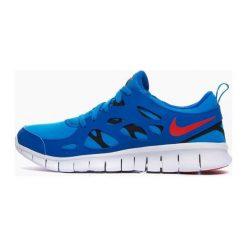 Buty sportowe damskie: Nike Buty damskie Free 2 Gs niebieskie r. 38 (443742-404)