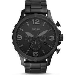Zegarek FOSSIL - Nate JR1401 Black/Black. Różowe zegarki męskie marki Fossil, szklane. Za 849,00 zł.