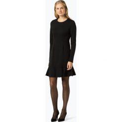 Calvin Klein Womenswear - Sukienka damska, czarny. Szare sukienki balowe marki BE, s, z nadrukiem, z klasycznym kołnierzykiem. Za 899,95 zł.