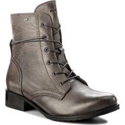 Botki WOJAS - 6665-50 Popiel. Szare buty zimowe damskie Wojas, z materiału. W wyprzedaży za 239,00 zł.