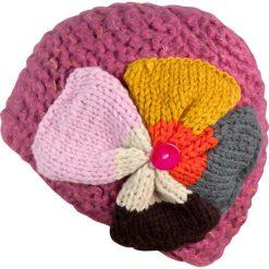 Czapka damska z Wielkim Kwiatem różowa. Czerwone czapki zimowe damskie Art of Polo. Za 49,91 zł.
