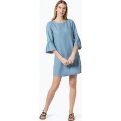 Marie Lund - Sukienka damska, niebieski. Niebieskie sukienki z falbanami Marie Lund, s, z jeansu. Za 199,95 zł.