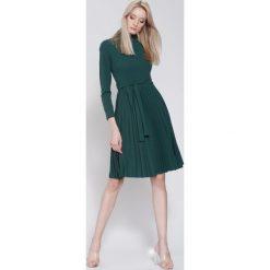 Ciemnozielona Sukienka For You. Zielone sukienki other, uniwersalny, midi. Za 89,99 zł.