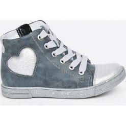 Kornecki - Trampki dziecięce. Szare buty sportowe dziewczęce Kornecki, z materiału, na sznurówki. W wyprzedaży za 129,90 zł.