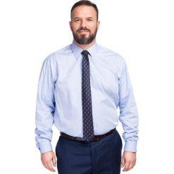 Koszula MASSIMO 16-03-01. Czarne koszule męskie marki Giacomo Conti, m, z bawełny, z klasycznym kołnierzykiem. Za 259,00 zł.