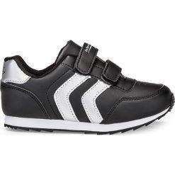 BUTY DZIECIĘCE NA RZEP KT005 - CZARNE. Czarne buciki niemowlęce Inny, z materiału. Za 49,00 zł.