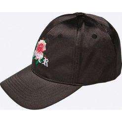 Missguided - Czapka. Czarne czapki z daszkiem damskie marki Missguided, z poliesteru. W wyprzedaży za 29,90 zł.