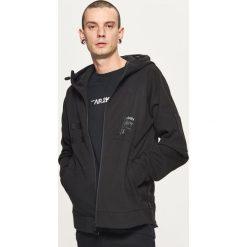 Odzież męska: Bluza tech cropp z szelkami - Czarny