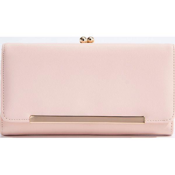 1948dab3050a9e Duży pastelowy portfel - Różowy - Różowe portfele damskie Mohito. W ...