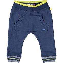 Spodnie niemowlęce: Spodnie dresowe w kolorze granatowym