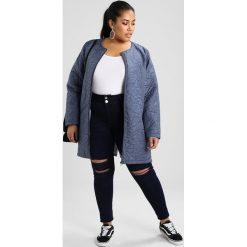 City Chic HARLEY RIP Jeans Skinny Fit indigo. Niebieskie jeansy damskie marki City Chic. W wyprzedaży za 341,10 zł.
