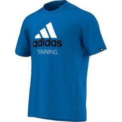 Koszulki sportowe męskie: Adidas Koszulka Pes Training niebieski r. S (AI6011)
