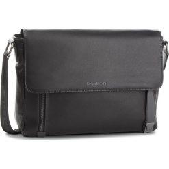 Torba na laptopa LANETTI - RM0333 Black. Czarne torby na laptopa marki Lanetti, ze skóry ekologicznej. Za 139,99 zł.