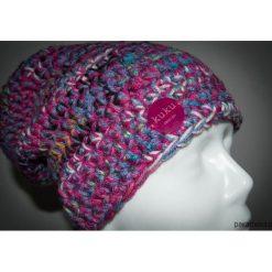 Czapka różowo-fioletowa. Czerwone czapki zimowe damskie Pakamera. Za 99,00 zł.