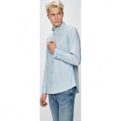 Produkt by Jack & Jones - Koszula. Szare koszule męskie na spinki marki PRODUKT by Jack & Jones, l, z bawełny, button down, z długim rękawem. Za 99,90 zł.