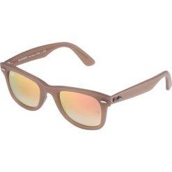 RayBan WAYFARER Okulary przeciwsłoneczne light brown. Brązowe okulary przeciwsłoneczne damskie aviatory Ray-Ban. Za 579,00 zł.