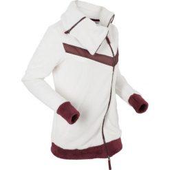 Bluzy polarowe: Miękka bluza rozpinana z polaru, długi rękaw bonprix biel wełny