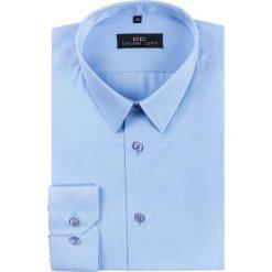 Koszula SIMONE KDNR000191. Białe koszule męskie na spinki marki bonprix, z klasycznym kołnierzykiem. Za 149,00 zł.