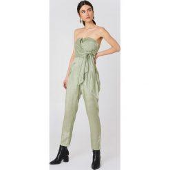 Kombinezony damskie: Glamorous Kombinezon bandeau - Green