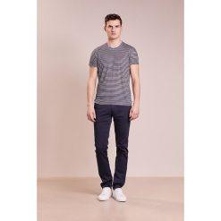T-shirty męskie: 120% Lino UOMO GIROCOLO STRIPE Tshirt z nadrukiem medium grey
