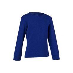 Bluza 100 Gym. Szare bluzy dziewczęce rozpinane marki DOMYOS, z elastanu, z kapturem. W wyprzedaży za 17,99 zł.