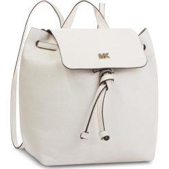 Plecak MICHAEL MICHAEL KORS - Junie 30T8TX5B2L  Optic White. Żółte plecaki damskie marki MICHAEL Michael Kors, ze skóry. W wyprzedaży za 899,00 zł.
