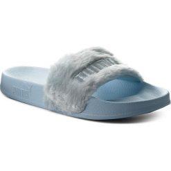 Chodaki damskie: Klapki PUMA - Fur Slide 365772 03 Cool Blue/Puma Silver