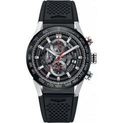 ZEGAREK TAG HEUER CARRERA CAR201V.FT6046. Czarne zegarki męskie marki KALENJI, ze stali. Za 21090,00 zł.