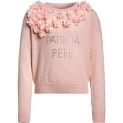 Patrizia Pepe Sweter old rose. Czerwone swetry chłopięce marki Patrizia Pepe, z bawełny. W wyprzedaży za 377,30 zł.