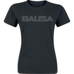 Bausa Logo Koszulka damska czarny. Czarne t-shirty damskie Bausa, l. Za 74,90 zł.