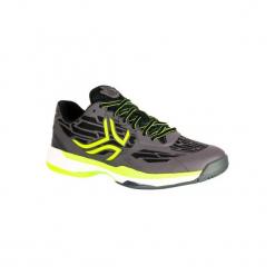 Buty tenisowe TS990 męskie na mączkę ceglaną. Niebieskie buty do tenisa męskie marki ARTENGO, z gumy. Za 199,99 zł.