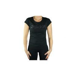 T-shirty z krótkim rękawem adidas  ESS Branded W Tee Z30889. Czarne t-shirty damskie Adidas, s. Za 79,99 zł.